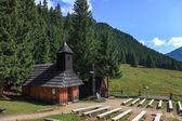 Mountain chapel — Stock Photo