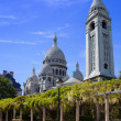 Stock Photo: Basilica Sacre-Coeur