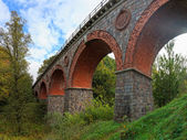 Old railway bridge — Stock Photo