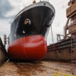 Tanker in dry dock — Stock Photo #22169839