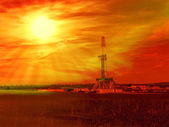 Gas Shale — Stock Photo