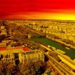 Aerial view of Paris — Stock Photo #23145174
