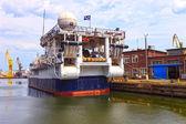 Forskningsfartyget — Stockfoto