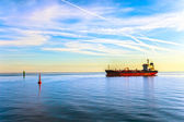 Oil Tanker Ship — Stock Photo
