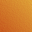 Orange leatherette texture - Stock Photo