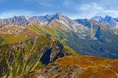 High Tatras Mountain Panorama — Stock Photo