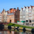 Tenement in Gdansk — Stock Photo