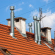 Many chimneys — Stock Photo #25825413