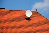 Satellite dish — Stock fotografie