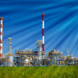 Refinery plant — Stock Photo #30544615