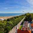 Aerial view bay of Gdansk — Stock Photo #31015003