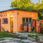 Old abandoned gas station — Stock Photo