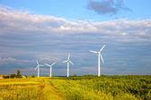Wind power generators — Stock Photo