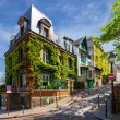 Charming streets of Paris — Stock Photo