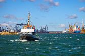 Tugs vessel in the port of Gdynia, Poland. — Stock Photo
