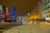 Christmas in Gdansk — Stock Photo
