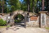 Cemetery in Zakopane — Stok fotoğraf