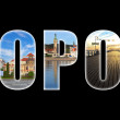 Sopot collage — Stock Photo