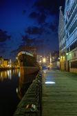 Gdansk at night — Stock Photo