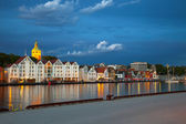Stavanger at night — Stock Photo