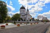 Beyaz Kilise — Stok fotoğraf