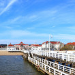 Stock Photo: Pier in Sopot