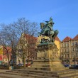 Monument of Jan III Sobieski — Stock Photo