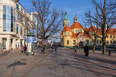 The Resort Square in Sopot, Poland. — Stock Photo