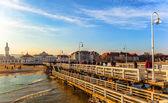 Pier in Sopot, Poland — Foto Stock