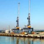 Port-Krane — Stockfoto #49497035