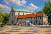 Lublin Capuchin monastery — Stock Photo