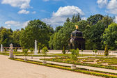 Gardens in Bialystok — Stock Photo