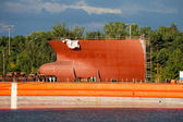 Ship building — Stock Photo