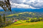 View of the Tatras mountains  — Stock Photo