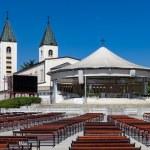 Medugorje church — Stock Photo #50309459