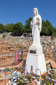 Mary in Medjugorie, Bosnia and Herzegovina. — Stock Photo
