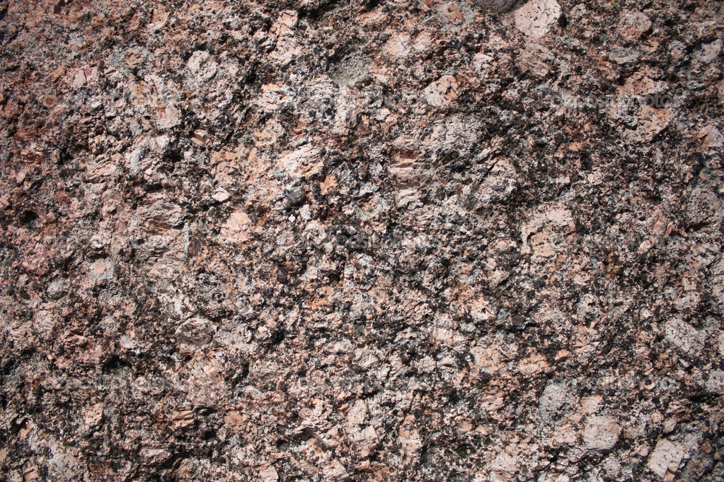 The structure of the Vyborg rapakivi granite close-up  Stock Photo #12185769