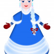 Stock Photo: Snow-maiden