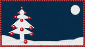 Christmas patchwork — Stock Photo