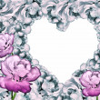 Romantic heart frame — 图库照片 #13879546