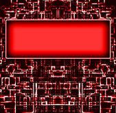 Fondo de bloques rojos — Foto de Stock
