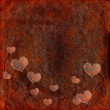 Stock Photo: Romantic rusty background