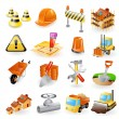 Construction icon set — Stock Vector #26879997