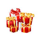 Set de regalo. vector — Vector de stock