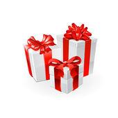 Gift set. Vector — Stock Vector