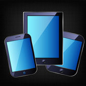 Tablet computer — Stock Vector