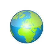 Globe. Vector Illustration — Stock Vector