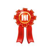 Vector award ribbon — Stock Vector