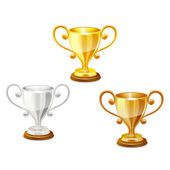 Vector trophy. — Stock Vector