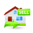 House for sale icon — Stock Vector